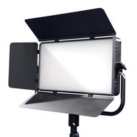 photoshoot studio professional audio fanless 200w bicolor movie shooting light video panel filming light