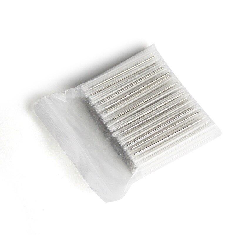 500-1000pcs/Lot Fiber Cable Shrink Sleeves Fusion Thin tube single needle FTTH Heat Shrinkable Splicing Protector Hot Melt Tube enlarge