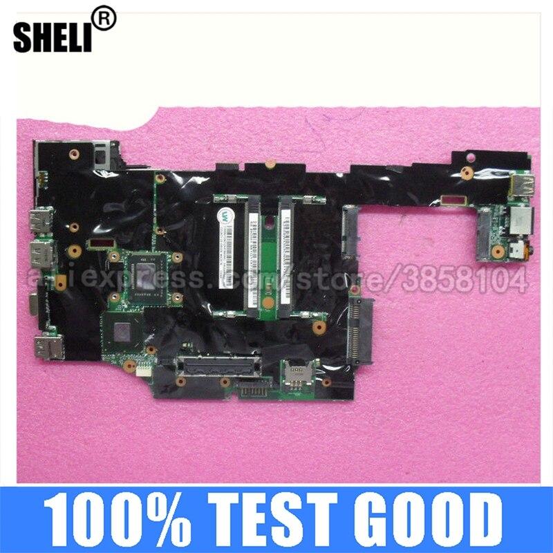 SHELI لينوفو X220 اللوحة مع I3-2310M FRU: 04W3303