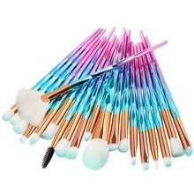 20Pcs Diamond Makeup Brushes Set Powder Foundation Blush Blending Eye shadow Lip Cosmetic Beauty Mak