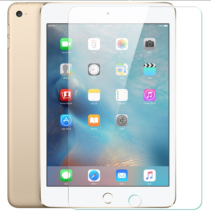 9H Tempered Glass For Apple iPad Air/Air2/2/3/4/5/6 Full Cover Screen Protector /5/6/Air/Air2/3/4/2 Protective