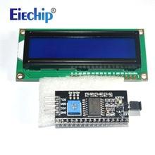 Écran LCD LCD1602 module écran bleu 1602 i2c Module daffichage LCD HD44780 16x2 caractère IIC 1602 5V pour écran lcd arduino