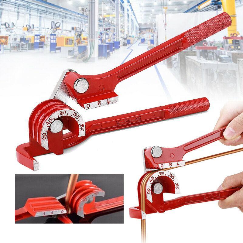 Herramienta de codo Manual de tubo 3 en 1 180 grados 6/8/10mm doblador de tubo/tubo de cobre/tubo de aire acondicionado