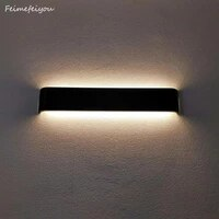 Luces     lampe de chevet en aluminium au design minimaliste moderne  luminaire decoratif dinterieur  ideal pour une chambre a coucher  une salle de bain ou un couloir
