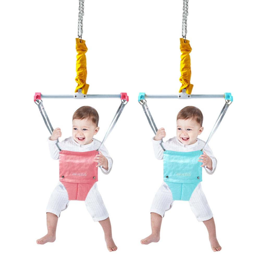 High Quality Baby Indoor Jumper Baby Fitness Exerciser Baby SwingJumper Baby Learn To Walk Trainer Early Education Toy enlarge