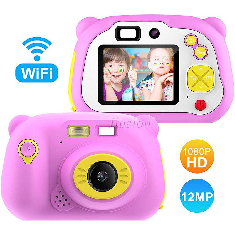 Mini cámara de vídeo 1080P para niños, videocámara Digital con Wifi, Vlog,...