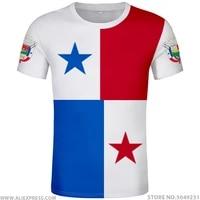 panama t shirt name number pan t shirt photo logo clothing print diy free custom made not fade not cracked tshirt jersey casual