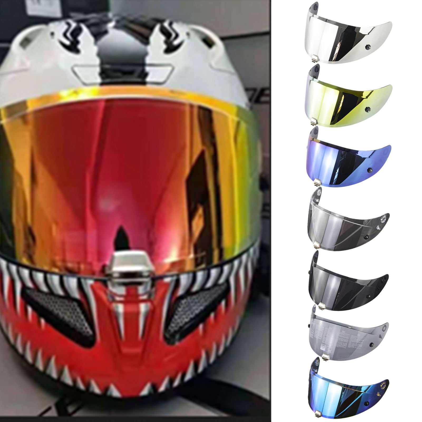 Helmet Visor For HJC RPHA11 RPHA70 Motorcycle Detachable Helmet Glasses Motorbike Helmet Lens Motocross Full Face Visor helmet visor for hjc rpha11 rpha70 motorcycle detachable helmet glasses motorbike helmet lens motocross full face visor