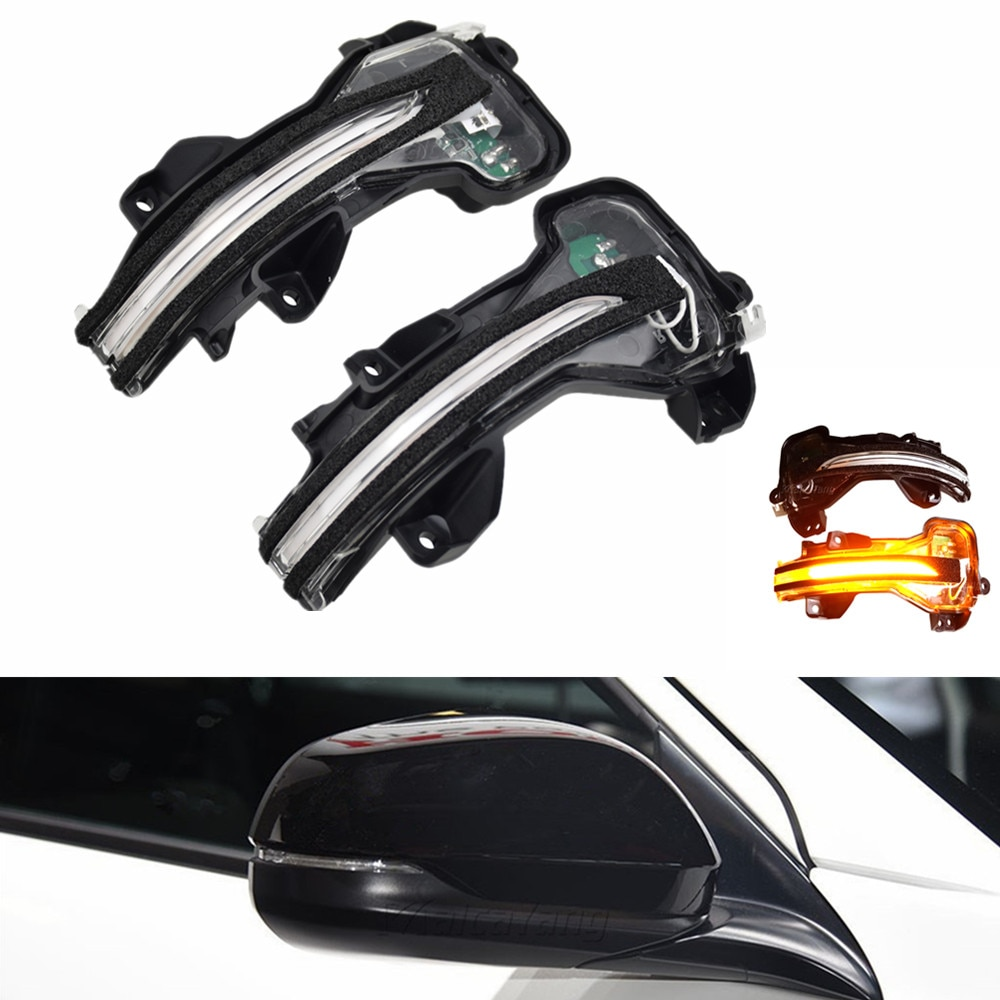 Para Honda City Vezel 2015-2016 Fit Jazz XRV Spirior 2015-2017 Luz de señal de giro LED dinámico retrovisor intermitente