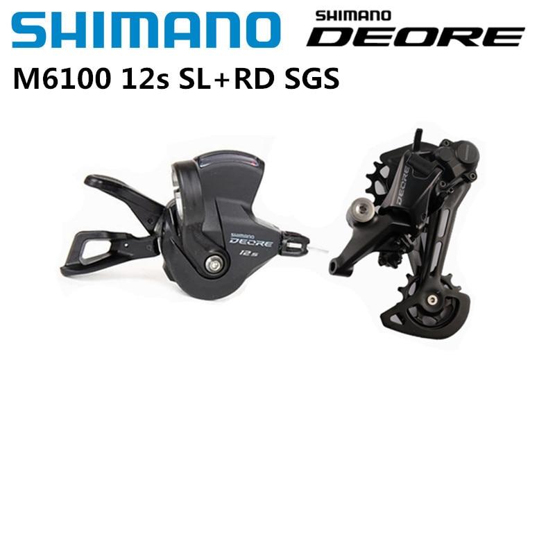 SHIMANO DEORE SLX XT XTR M6100 M7100 M8100 M9100 12s Shifter Lever Rear Derailleur 12S Groupset MTB Mountain Bike Groupset