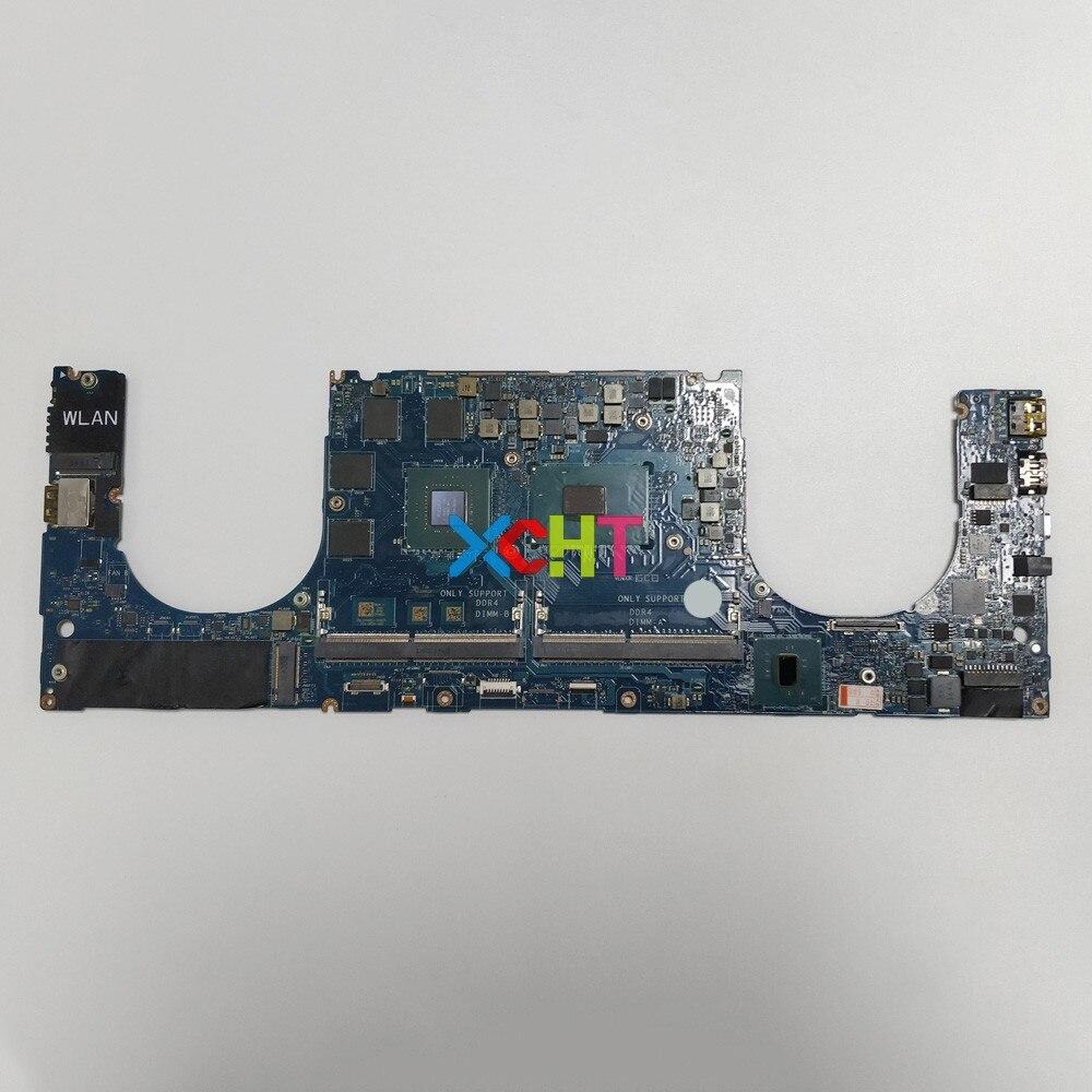 لديل XPS 15 9560 YH90J 0YH90J CN-0YH90J w i7-7700HQ cpu w 1050/4GB GPU LA-E331P محمول اللوحة اللوحة اختبار