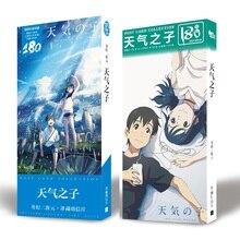 Anime Tenki hiçbir Ko ayrışma size kartpostal kartpostal etiket Artbook hediye Cosplay sahne kitap seti hediyeler