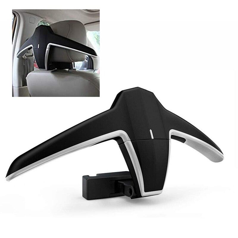 شماعات عالمية قابلة للطي لظهر مقعد السيارة ، ملحق متعدد الوظائف للسترات ، السترات ، السنانير ، إلخ.