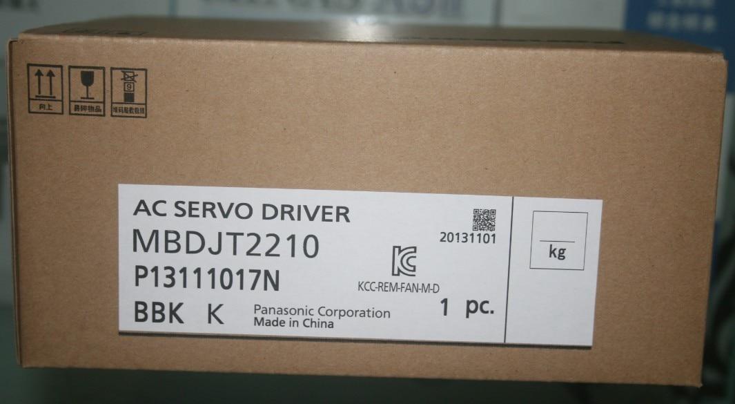 باناسونيك-محرك سيرفو LIQI 400 واط ، سلسلة E جديدة ، محرك سيرفو MBDJT2210