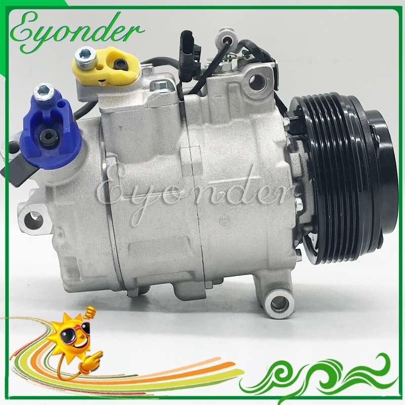 A/C AC compresor de refrigeración de aire acondicionado de la bomba de PV1 para BMW 1-Serie E81 E82 E88 118d 120d 123d 116d X1 E84 20d 18d 23d 6987862