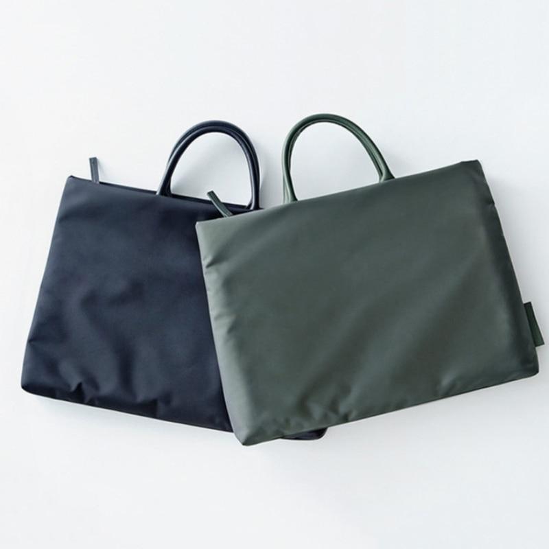 Portable 13.3 14 15.6 inch Laptop Bag Nylon Notebook Handbag Case For Macbook Air Pro 11 12 13 15 Retina HP Asus Laptop Sleeve