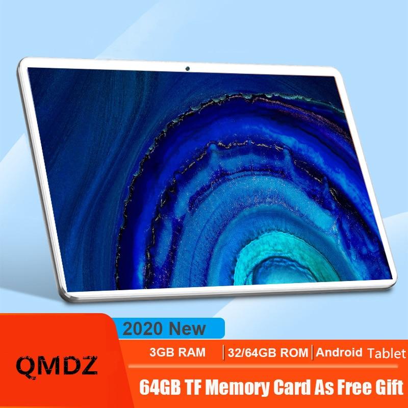 Tabletas CP9 4G LTE, tableta de 10,1 pulgadas con Octa Core MT6753, android 7,0, 3GB RAM, 32GB ROM, 2.5D TP, cuerpo de Metal biselado, 6000mAh, android 10