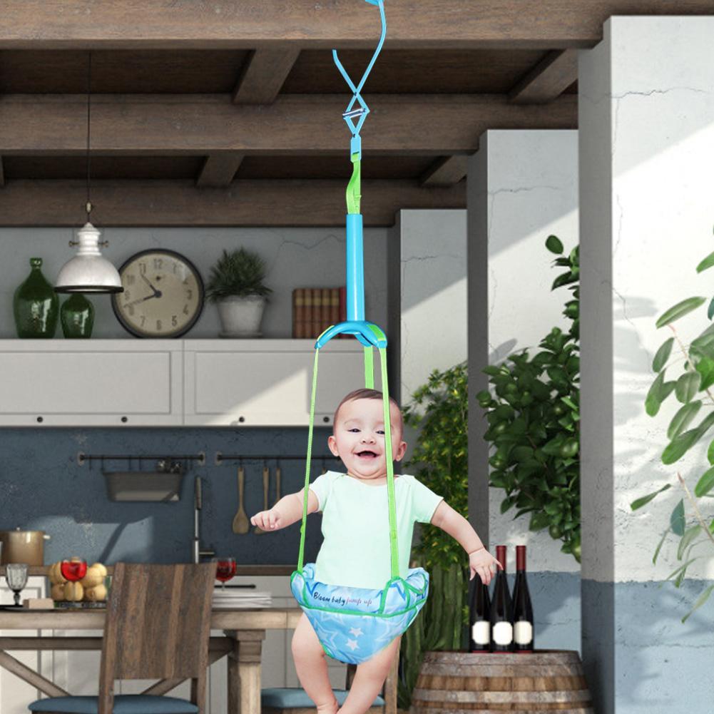 Baby Door Jumper Portable Door Swing Bumper Jumper Exerciser With Adjustable Strap For Toddlers Infants 6 Months To 2 Years Old enlarge
