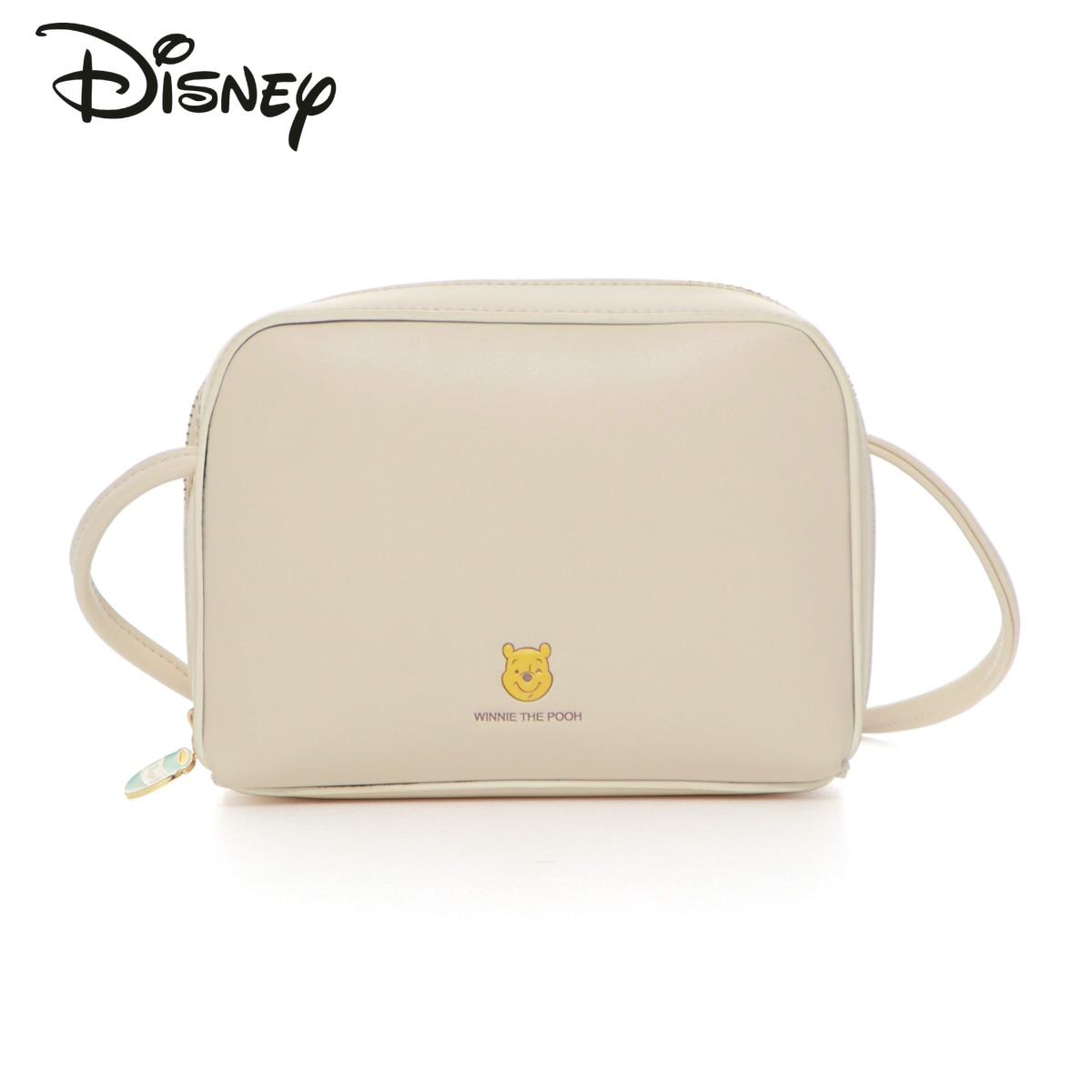 Disney New Co-branded Authentic Cartoon Ladies Shoulder Bag Fashion Casual Pu Zipper High Quality Luxury Ladies Messenger Bag