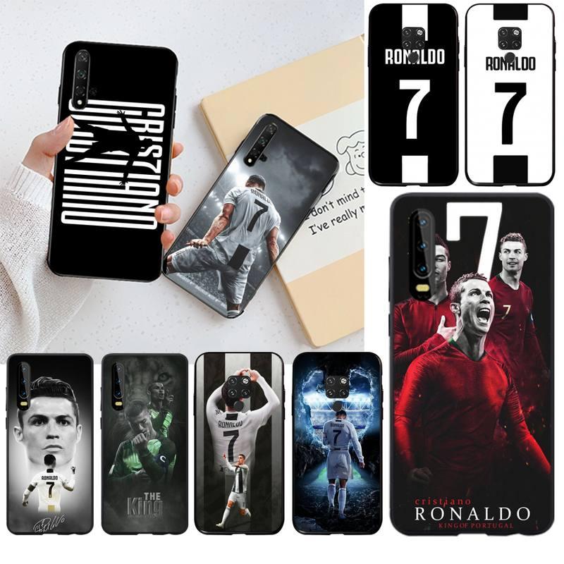 Чехол для телефона Football superstar Ronaldo CR7, роскошный уникальный дизайн, для Huawei P40 P30 P20 lite Pro Mate 20 Pro P Smart 2019 prime