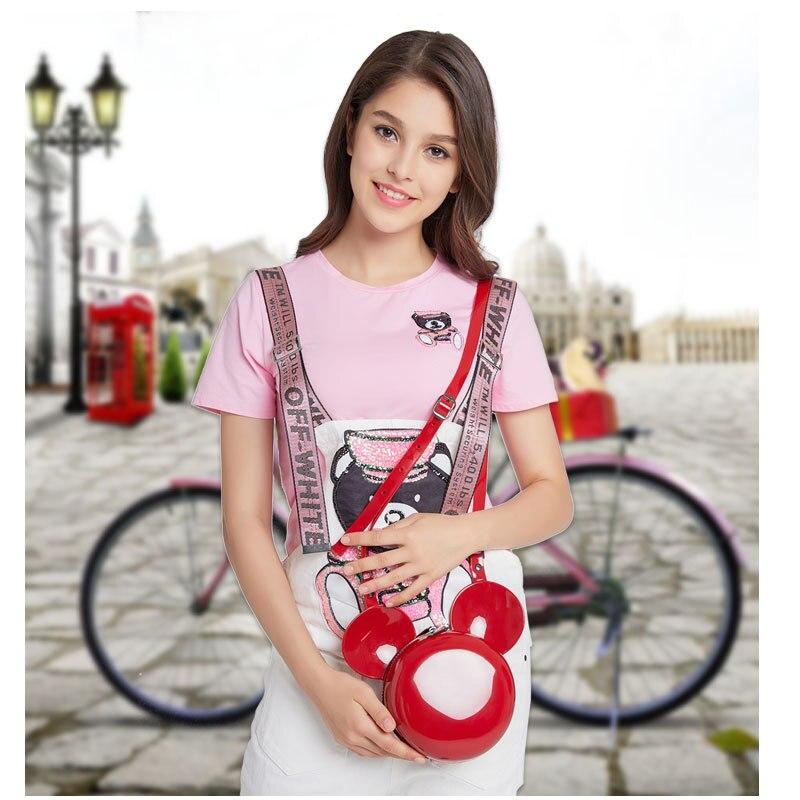 high quality small jelly cartoon mickey bag for women luxury handbags women bags designer crossbody parent child bags fashion
