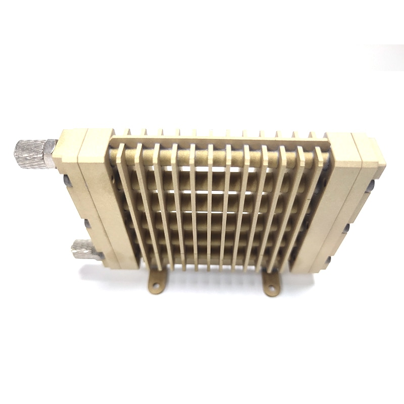 All-brass Welding Radiator 6-channel Oil Passage Hydraulic Model Accessories Excavator Loader Bulldozer Adult Toy Boy Toy enlarge