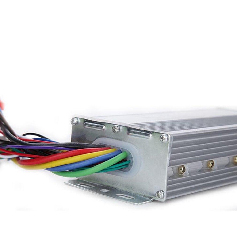 Controlador de Motor sin escobillas BLDC 48V 500W triciclo eléctrico modo Doble controlador sin sensor