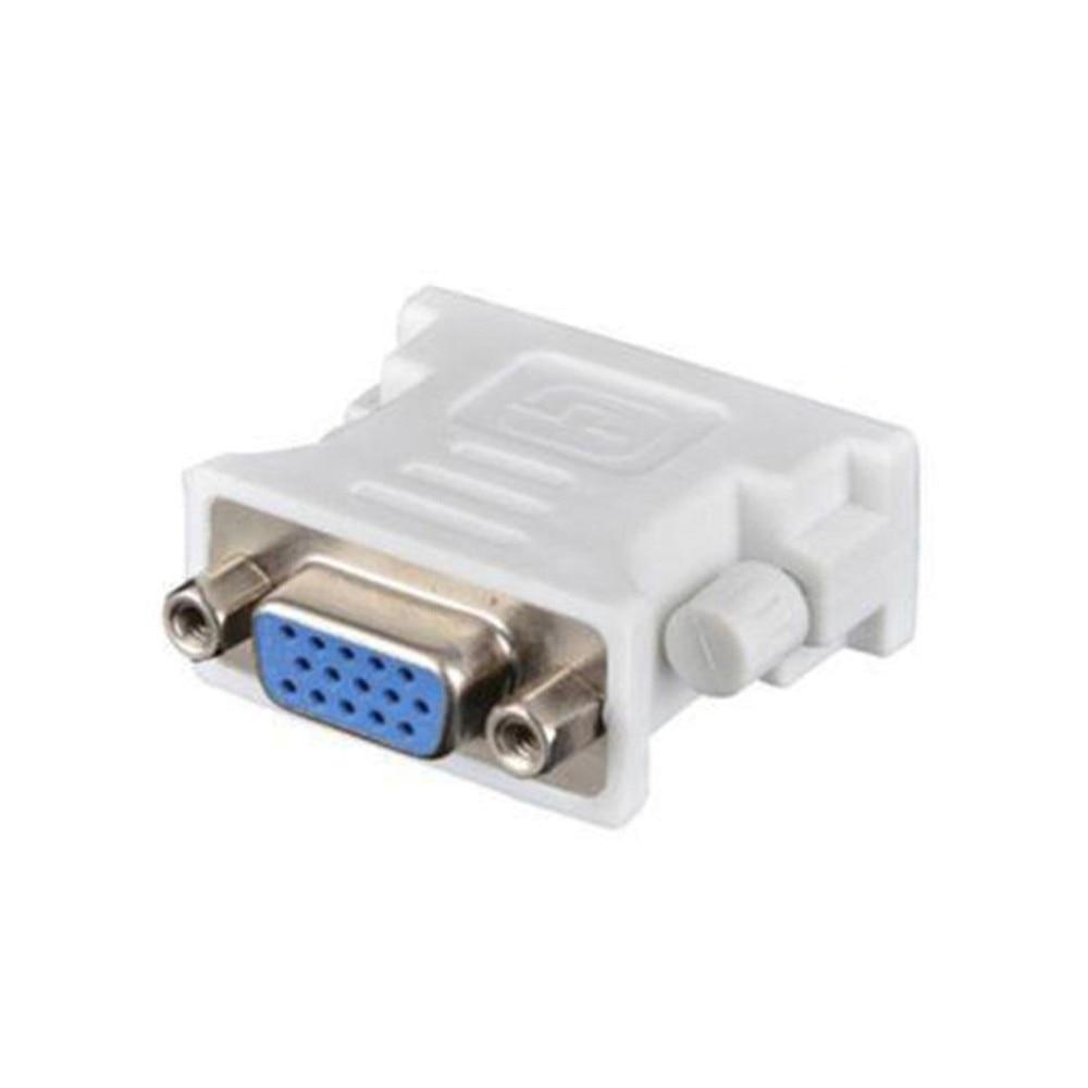 DVI D штекер VGA гнездо адаптер конвертер VGA к DVI/24 + 5 Pin папа к VGA Женский адаптер конвертер