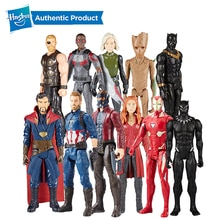 "Hasbro Marvel Avengers Infinity War Starforce Superhero 12"" Endgame Titan Hero Series Spiderman Iron Man Raccoon Doctor Strange"