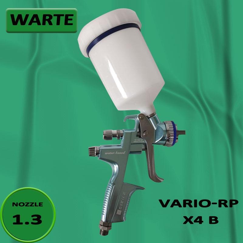 Spray Gun Paintl WARTE VARIO-RP X4 B Car Paint Primer Spray Gun pot 1.3Caliber Spray Furniture Large Area Painting Operation
