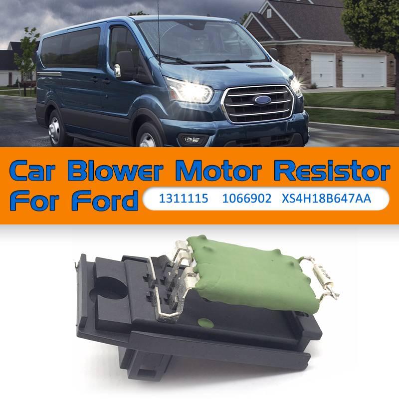 Carro Radiador De Arrefecimento Do Motor Do Ventilador Resistor Motor para Ford Focus/Fiesta/Mondeo/Puma/Cougar/Saloon/Transit 1311115 XS4H18B647AA