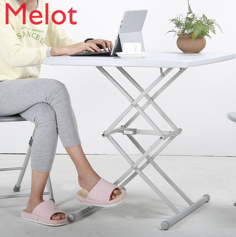 طاولة طعام قابلة للطي المنزلية المؤقتة أريكة بسيطة طاولة مربعة صغيرة شرفة دراسة طاولة القهوة في الهواء الطلق المحمولة طاولة خشبية