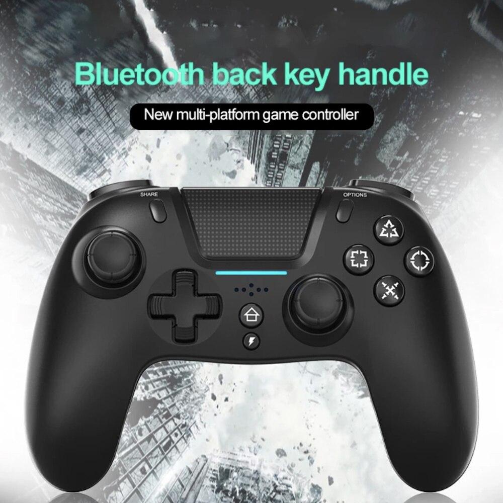 Mando inalámbrico Bluetooth para PS4 Elite/Slim/Pro, mando para Android con botón trasero...