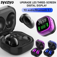 S6 Plus Bluetooth-наушники; Музыкальная гарнитура; Водонепроницаемые наушники; Спортивные наушники для Iphone, Huawei, OPPO, Xiaomi, TWS; Беспроводные наушники