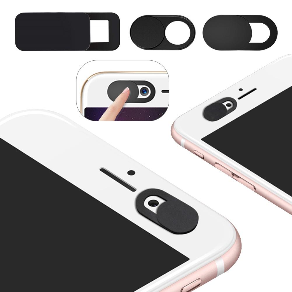 1/3/6Pcs WebCam Cover Shutter Magnet Slider Plastic for Iphone Laptop Camera Web PC Tablet Smartphon