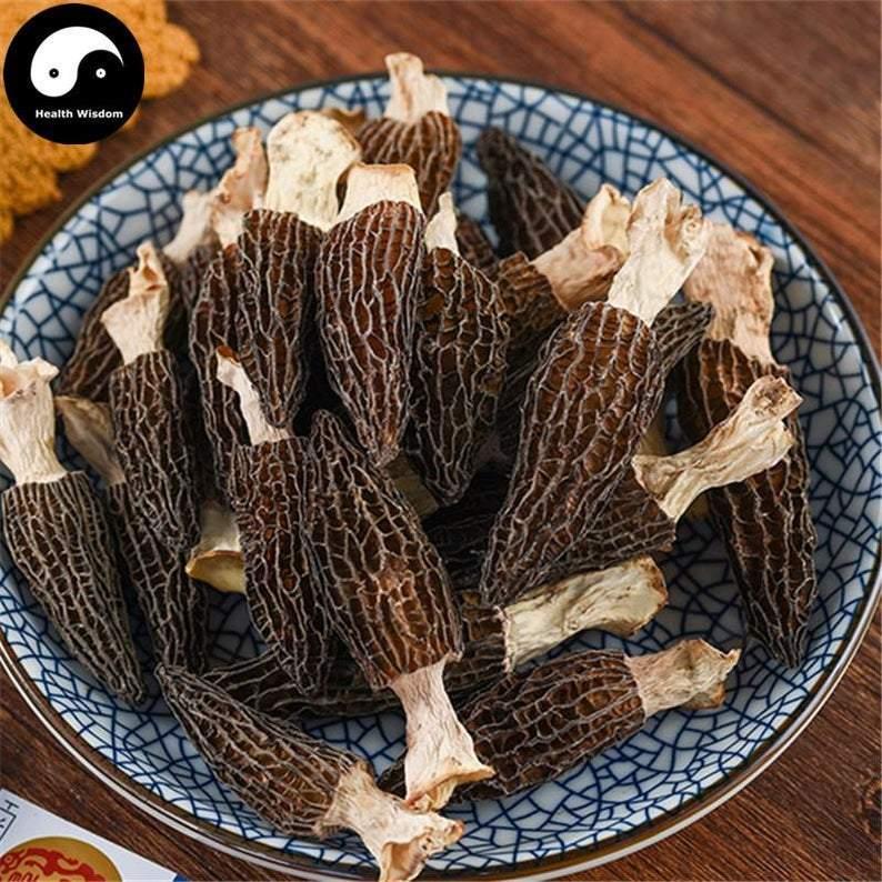 Morchella Vulgaris Mushroom, Chinese Rare Morels