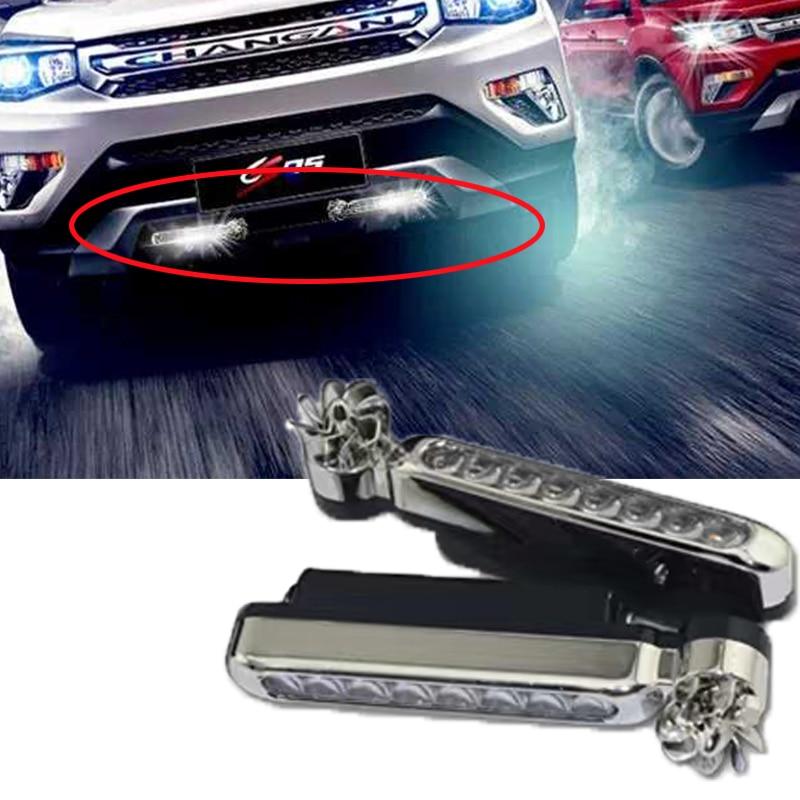 1Pcs Car Front Grilles Racing Trim LED Lamp For Opel Astra H J G Insignia Mokka Corsa D Vectra C Zafira Meriva Infiniti q50 FX35
