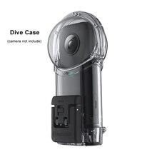Insta360 새로운 벤처 케이스 Insta 360 용 다이빙 케이스 X 방수 케이스 또는 다이빙 케이스 다이빙 30M 깊이 액션 카메라 액세서리
