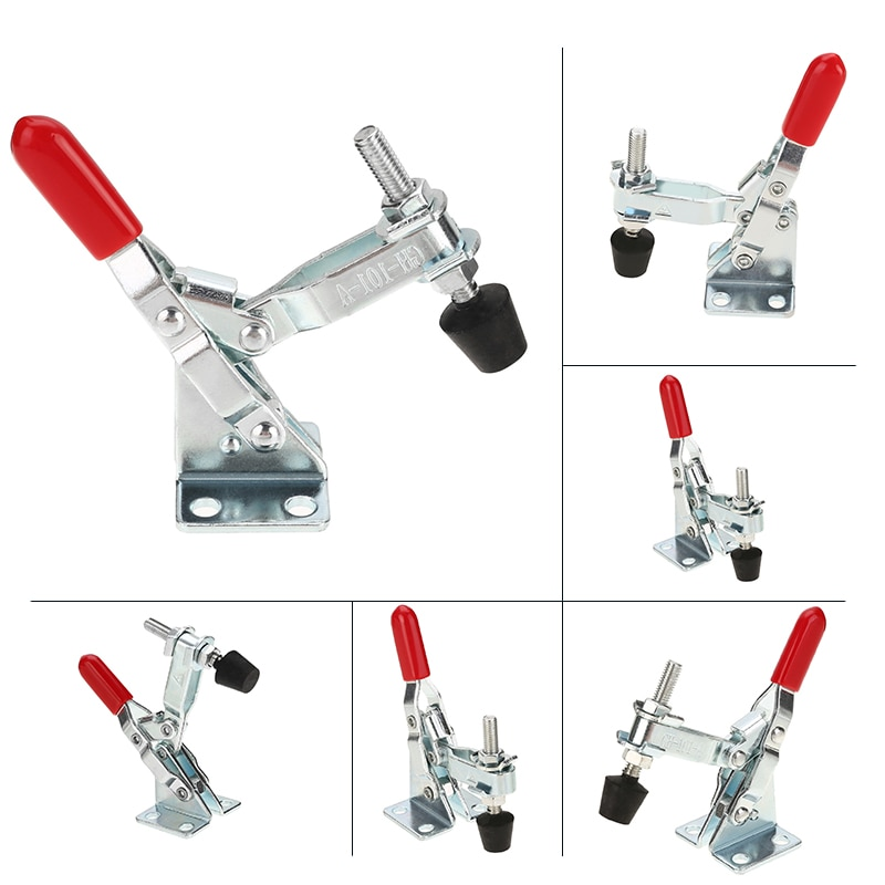 27kg 50kg 90kg Anti-Slip U Form Toggle Clamp Holding Kapazität Push Pull Toggle Clamp Vertikale/horizontale Typ für Hand Werkzeuge