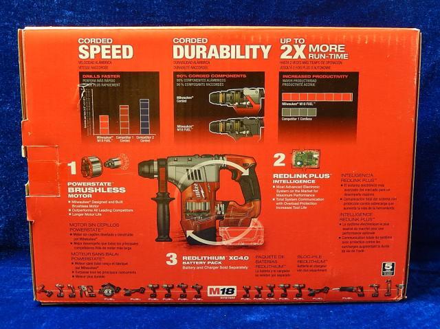 Milwaukee2715-20 18V Lithium Brushless Four Hang Hammer tools Hammer drill enlarge
