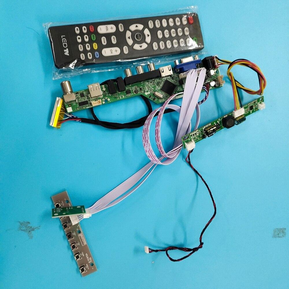 kit for LTM230HT05 DIY CVBS LED LVDS 30pin USB LCD TV AV Panel monitor VGA HDMI-compatible 1920X1080 Controller board 23