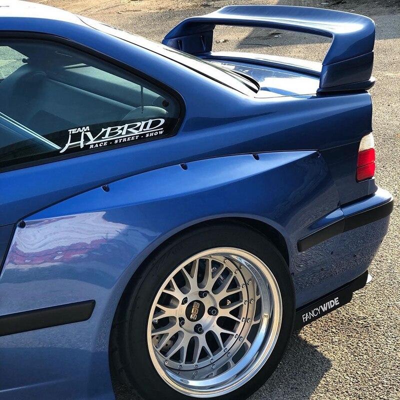 سبويلر للسيارة BMW M3 من فئة 1990-2000 سبويلر مصنوع من البلاستيك ABS خفيف غير مطلي للسيارة BMW E36 M3 سبويلر