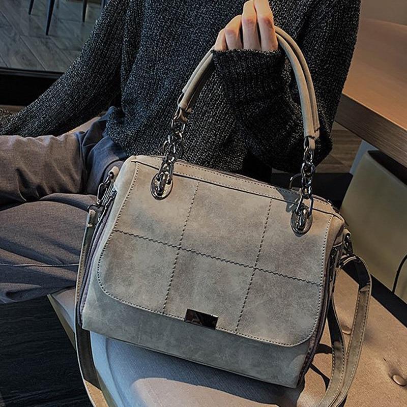 Winter New 2021 Totes Boston Bag for Travel Hand Bags Matte Women Handbag Scrub Female Shoulder Bags Large Capacity PU Leather