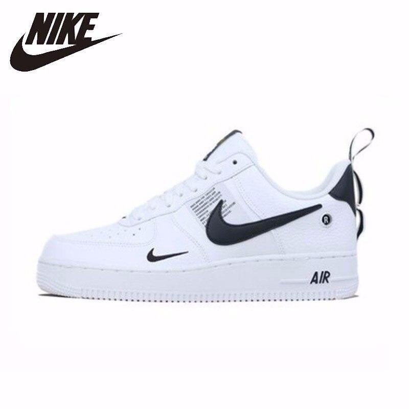 Nike nova chegada da força aérea 1 af1 utilitário respirável homens tênis de corrida baixo e confortável # aj7747