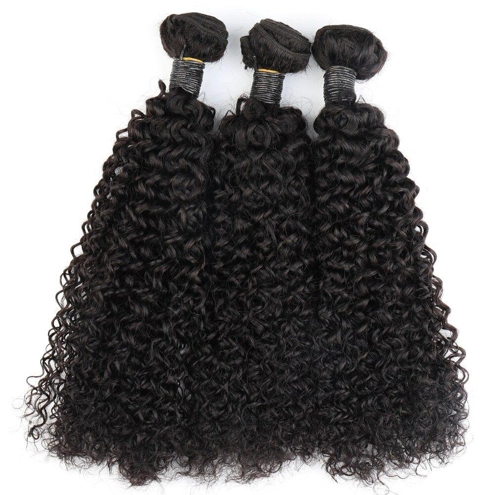 3 1 fasci di capelli ad onda d'acqua Bliss smeraldo 100% fasci di capelli umani brasiliani vergini fasci di capelli ricci profondi con chiusura