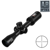 2-7X32 AR אופטיקה זרוק אזור-223 Reticle טקטי Riflescope עם צריחי יעד ציד סקופס צלף רובה