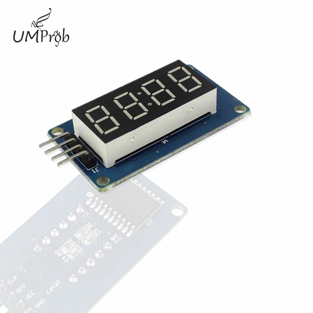 Модуль светодиодного дисплея часов TM16