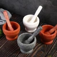 kitchen utensils manual masher pepper mill household spice grinder garlic masher pepper mortar and pestle kitchen chopper