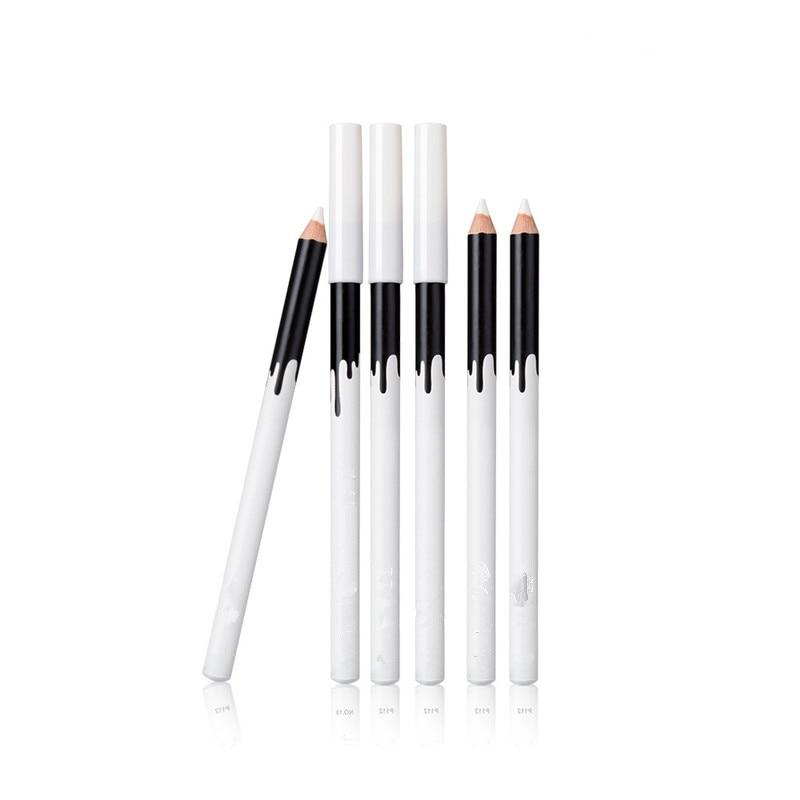 Хорошее качество Красота Белый хайлайтер e yeshadow Карандаш косметический блеск длительный e ye Shadow e yel iner ручка косметический инструмент