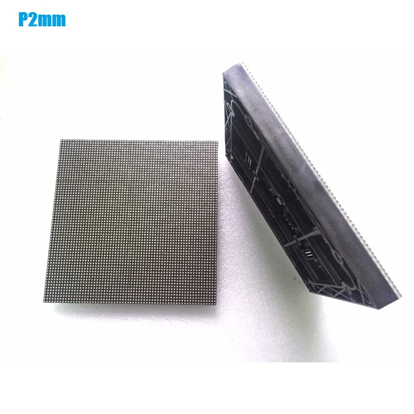 fine quality p2 5 indoor smd full color led module 1 32 scan 160x160mm 64x64 pixels hd video screen wall P2 RGB Module HD Screen 64x64dot Matrix Indoor SMD Led Panel 128*128mm LED Display Wall P4 P5 P6 P8 P10 Video Wall Panels